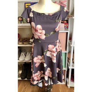 Windsor High-Low Floral Dress